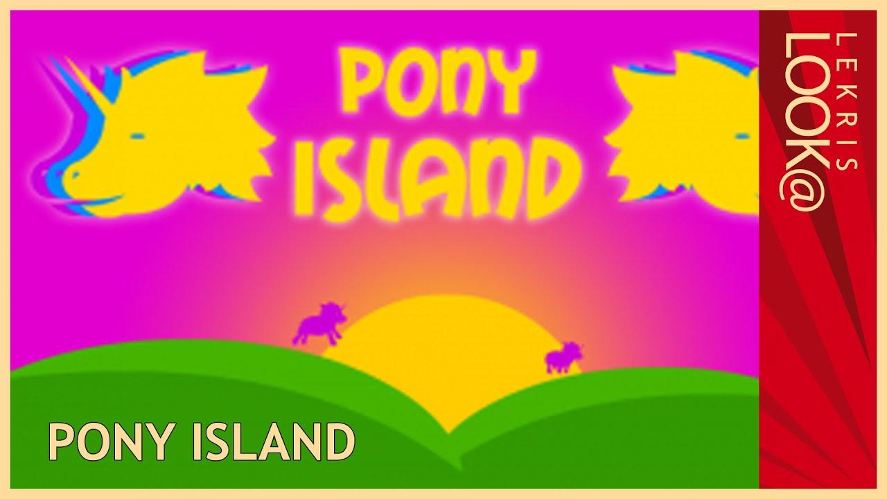 Have a l00k @ Pony Island - Part 2 - ICH WILL EIN SPIEL MIT DIR SPIELEN