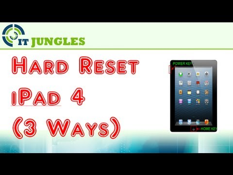 How to Hard Reset iPad 4 (3 Ways)