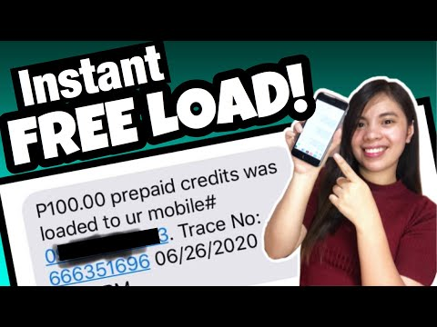 Unlimited P100 FREE LOAD to Any Network - Globe Smart Sun Tm Gamit ang Isang APP | LEGIT APP!