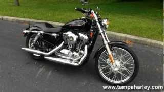 6. Used 2010 Harley-Davidson Sportster 1200 Custom Motorcycle for sale