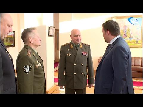 Андрей Никитин встретился с командующим Росгвардии Северо-Западного округа
