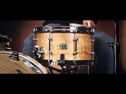 Tama SLP 13x7 G-Maple Satin Tamo Ash Snare Drum