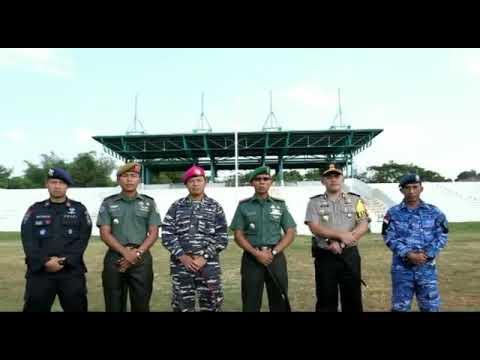 Doa Bersama TNI-POLRI Kepada 5 Bhayangkara Polri yang Gugur