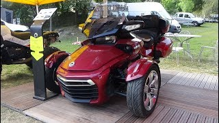 8. 2017 Can-Am Spyder F3 Limited - Exterior and Interior - Foire 4x4 Valloire 2017