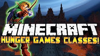 ESCAPING DEATH! - Minecraft: Hunger Games CLASSES! w/Preston&Woofless!