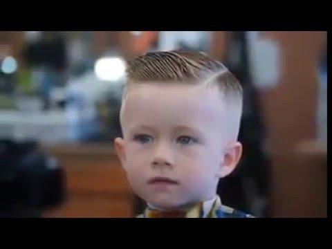 Corte de Cabelo em Criança 2016 2017 - Little boy Haircut