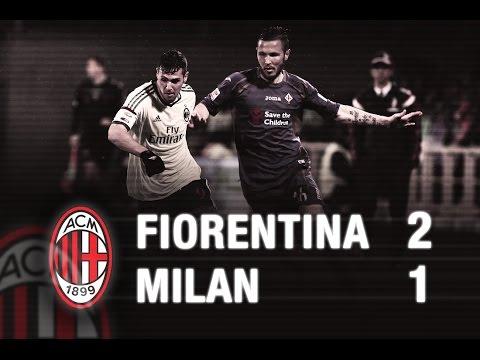fiorentina-milan 2-1 highlights ampia sintesi