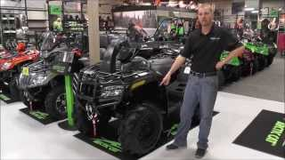 8. 2015 Arctic Cat 1000 Mud Pro Limited Matte Black