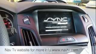 How to Install  MYFORDTOUCH CAM (FORD FOCUS / 2013, USA)