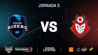 SUPERLIGA ORANGE - MOVISTAR RIDERS VS G2 VODAFONE - Mapa 1 - #SUPERLIGAORANGELOL3