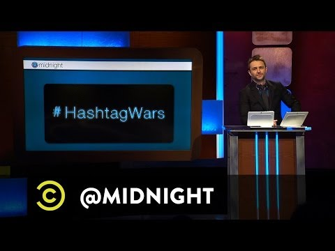 Chris Hardwick @midnight - #HashtagWars - #FailedBusinesses (Comedy Central)