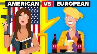 Video American Girls vs European Girls - How Do They Compare? MP3, 3GP, MP4, WEBM, AVI, FLV Desember 2018