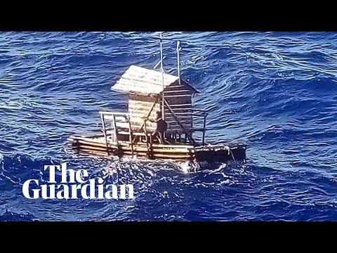 19-vuotias nuorimies ajelehti 49 päivää merellä yksinään – Video pelastusoperaatiosta