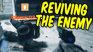 Reviving the Enemy - Rainbow Six Siege Funny Moments & Epic Stuff