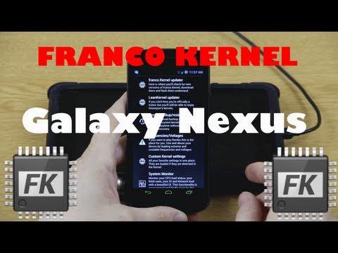 Franco.Kernel for the Galaxy Nexus
