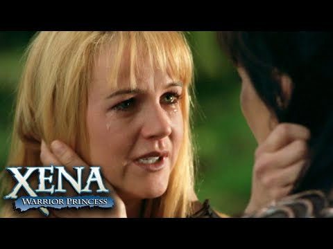 Xena and Gabrielle's Emotional Reunion | Xena: Warrior Princess