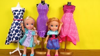 Video SHOPPING ! Elsa and Anna toddlers at Clothing Store - Dresses - Shoes - Purses MP3, 3GP, MP4, WEBM, AVI, FLV Juni 2019
