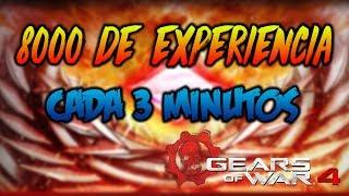 """Gears of War 4 - Truco de nivel - Truco de experiencia - Truco de XP - Como subir de nivel - Sin Ayuda - Glitch de experiencia - glitch de XP - Glitch para subir de nivel mas rapido - nuevo truco de experiencia y creditos - como hacer speed run - GOW 4👉COMPARTE👉COMENTA👉LIKE👉SUSCRIBETE *QUIERES JUGAR CONMIGO?👉GAMERTAG: Soul Veendetta (si, con double """"e"""")👉REDES PARA QUE TE ENTERES DE TODO ANTES (FOLLOW & LIKE):👉Facebook: https://www.facebook.com/xVeendetta/👉Twitter: https://twitter.com/iVeendetta👉Instagram: https://www.instagram.com/iveendetta/"""