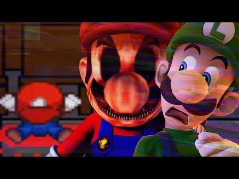IS MARIO A KILLER OR DEAD?! - LUIGI'S NIGHTMARE.EXE - Chapter 1 Ending [Super Mario Horror Game]
