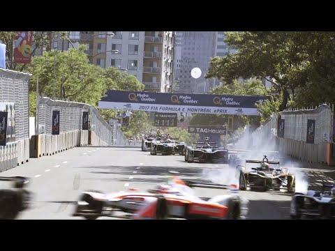 Inside Montreal's Formula E race