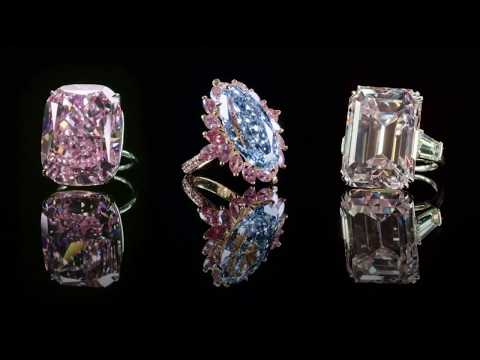 Magnificent Jewels – Dazzling Coloured Diamonds
