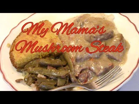 Cooking Mama's Mushroom Steak