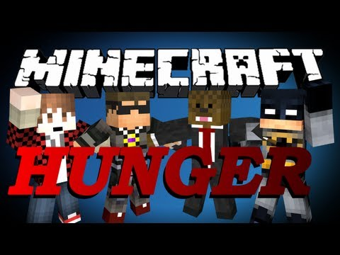 Minecraft Hunger Games FFA w/ SkyDoesMinecraft, BajanCanadian, and xRPMx13 Game #112 LONG CHASE!