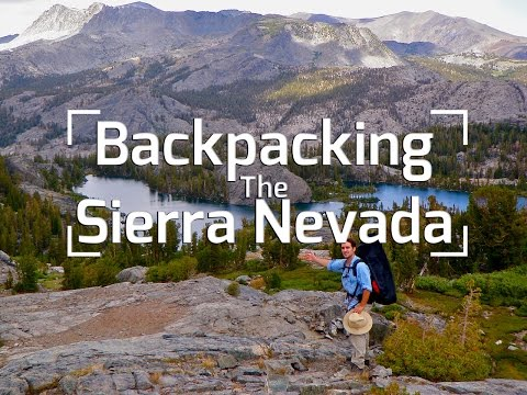 a camping trip into the depths of the sierra nevada mountains