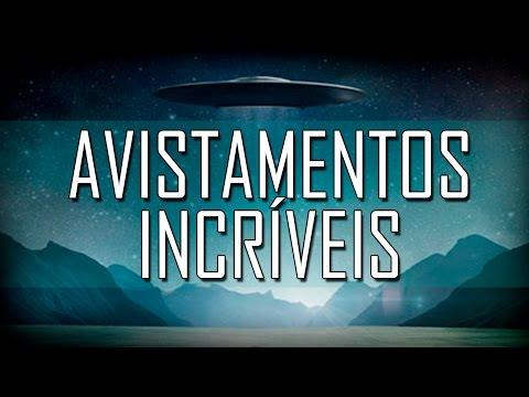 Os 10 Melhores avistamentos de OVNIS! (видео)