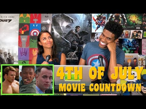 COUNTDOWN 4TH OF JULY Movies (Independence Day Films)