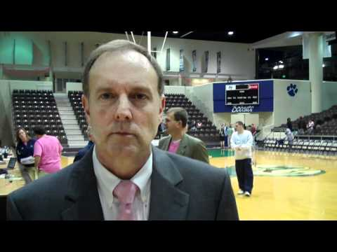 Coach Sellers Talks About Victory Over Lander University
