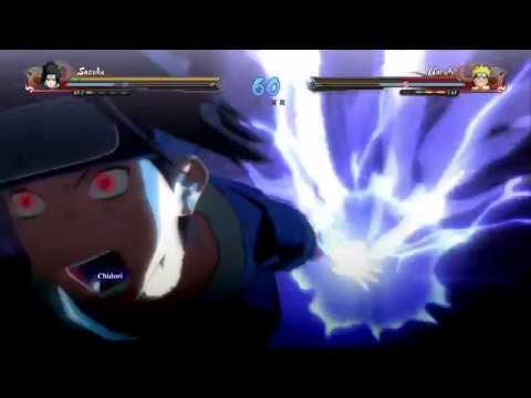 Naruto vs Sasuke Remastered Ultimate Ninja Storm 4 Kid Mode