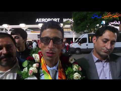 تصريح أمين الشنتوف بعد عودته من أولمبياد البرازيل