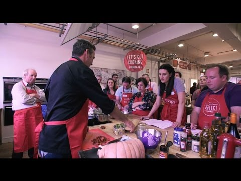 SuperValu Cooks Academy With Ray D'Arcy
