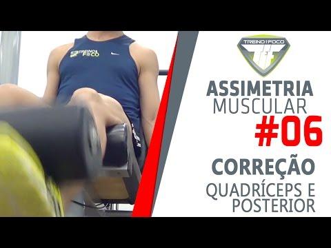 Corrigir Assimetria de Quadríceps e Posterior de Coxa