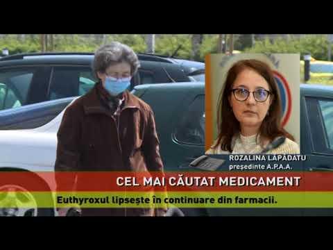 Euthyroxul, cel mai căutat medicament din România