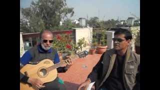 Original guitarist of Pukarta Chala Hun Main ... Sunil Sir