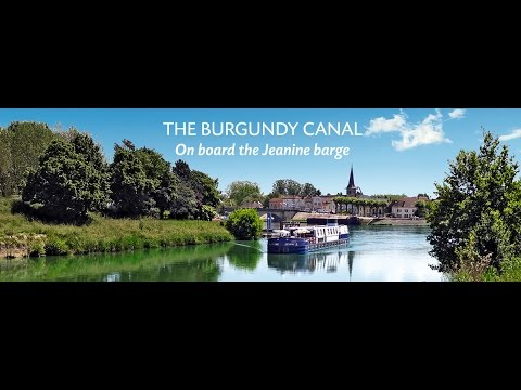 Cruise on the Burgundy canal