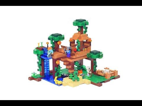 Vidéo LEGO Minecraft 21125 : La cabane dans l'arbre de la jungle
