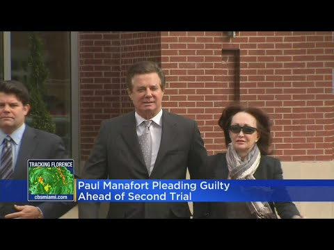 Manafort Pleaded Guilty Ahead Of Second Trial