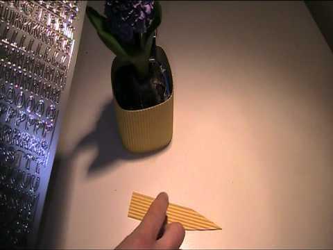 Oster Tischkarte erstellen Video