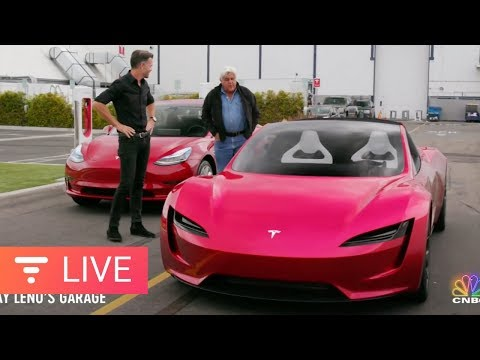 Can Tesla Wow Jay Leno With the Next Gen Roadster? [live] (видео)