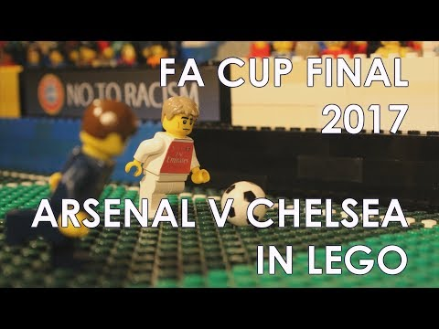 FA Cup 2017 • Arsenal vs Chelsea • Goal highlights in LEGO