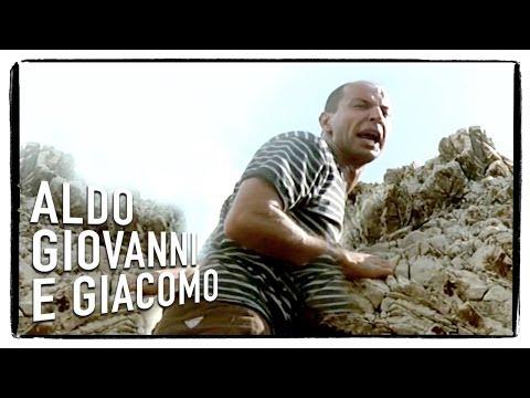 Aldo e la roccia friabile - Tre uomini e una gamba