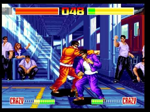 Aggressors of Dark Kombat Neo Geo