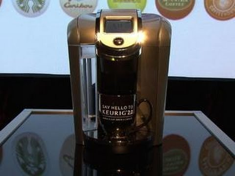 Brew big or small with the Keurig K500 coffee maker