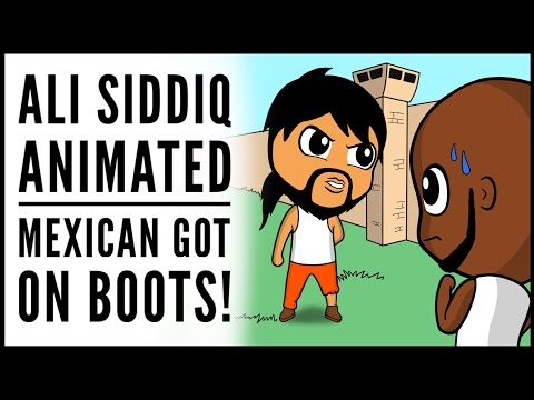 MEXICAN GOT ON BOOTS! 😂 - ALI SIDDIQ ANIMATED!!