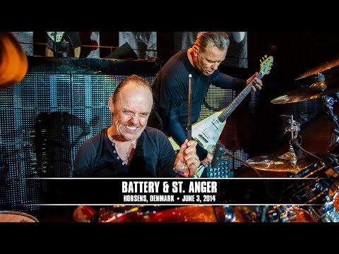 Battery - Fly on the wall footage shot by the MetOnTour reporter on June 3, 2014 in Horsens, Denmark. Footage includes Lars in the Met Club Meet & Greet, warming up in...
