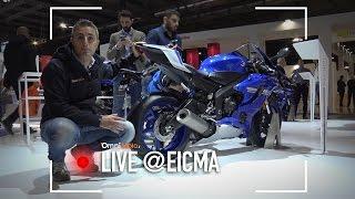 Yamaha YZF-R6 2017 a EICMA 2016