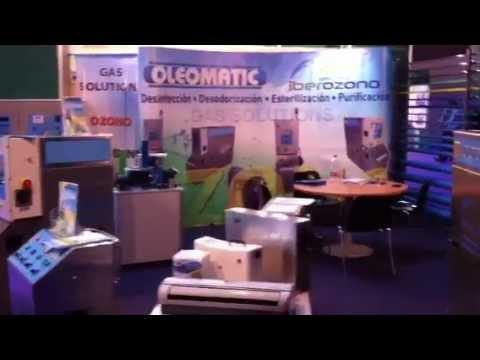 Stand Oleomatic y Grupo Iberozono Feria BTA 2012